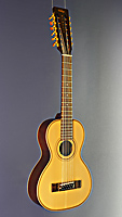 Vintage Paul Brett Signature, 12-string acoustic guitar, solid Sitka spruce top, mahogany on back and sides, scale 54.6 cm, with Fishman pickup