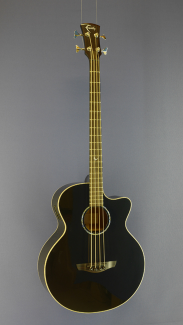 Faith Jupiter Acoustic Bass, Jumbo, Fichte, Mahagoni, schwarz, Mensur 80 cm, Cutaway, Pickup, with case, 985,00 €