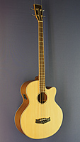 Tanglewood Acoustic Bass, scale 86 cm, with Sitka spruce top (laminated) and mahogany on back and sides, with pickup