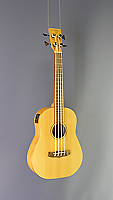 Tanglewood Micro Bass, short scale 54 cm, with Sitka spruce top (laminated) and mahogany on back and sides, with pickup
