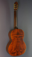 Wolfgang Teller Contrabass-Guitar, spruce, maple, back view