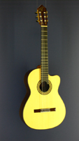 Albert & Müller Classical Guitar spruce, rosewood, cutaway, scale 65 cm, year 2008