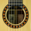 Thomas Friedrich Classical Guitar spruce, rosewood, 2007, rosette, label