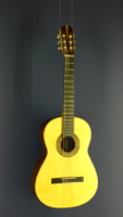 Wolfgang Guzscher Classical Guitar, spruce, rosewood, scale 65 cm, year 1998