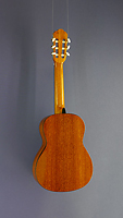 Lacuerda, Model chica 53, 1/2 children`s guitar, cedar, mahogany, scale 53 cm, back view