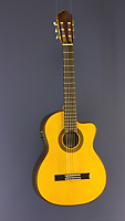 Angel Lopez, electro acoustic guitar spruce, rosewood, cutaway, pickup