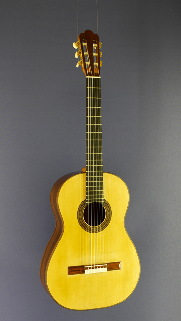 Andreas Wahl Luthier Guitar spruce, rosewood, year 2013