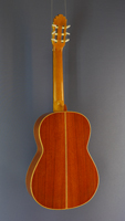 Antonio Ariza classical guitar spruce, cocobolo, year 1998, back view