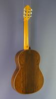 Bernd Martin classical guitar, spruce, rosewood, year 2015, back view