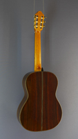 Carsten Kobs Luthier guitar Doubletop cedar, rosewood, 2014, back view