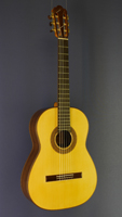 Dominik Wurth Classical Guitar spruce, rosewood, scale 64 cm, year 2015