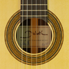 Dominik Wurth Classical Guitar spruce, rosewood, scale 64 cm, year 2015, rosette, label