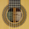 Dominik Wurth Classical Guitar cedar, rosewood, scale 64 cm, year 2015, rosette, label