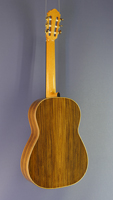 Dominik Wurth luthier guitar cedar, rosewood, scale 64 cm, year 2016, back view