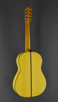 Dominik Wurth Flamenco guitar spruce, cypress, year 2014, back view