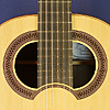 Hein Gitarrenbau luthier guitar Simplicio model, spruce, wenge, scale 64.5 cm, year 2014, double soundhole, rosette, label