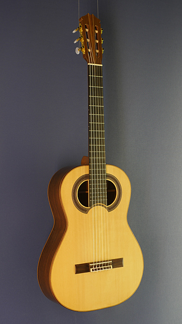 Hein Gitarrenbau classical guitar Simplicio model, spruce, wenge, scale 64.5 cm, year 2014