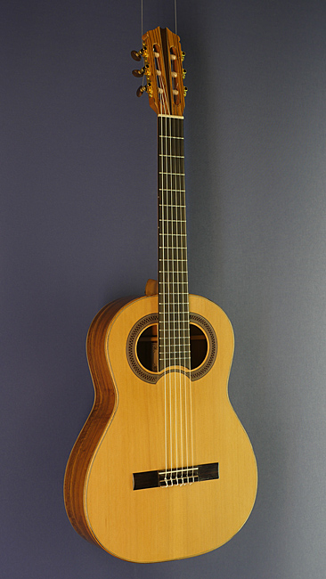Hein Gitarrenbau classical guitar Simplicio model, cedar, ovangcol, scale 64.5 cm, year 2016