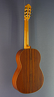 JJochen Rothel Luthier Guitar spruce, Madagascar rosewood, year 2017, back view