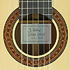 Jochen Rothel classical guitar spruce, Madagascar rosewood, year 2017, rosette, label