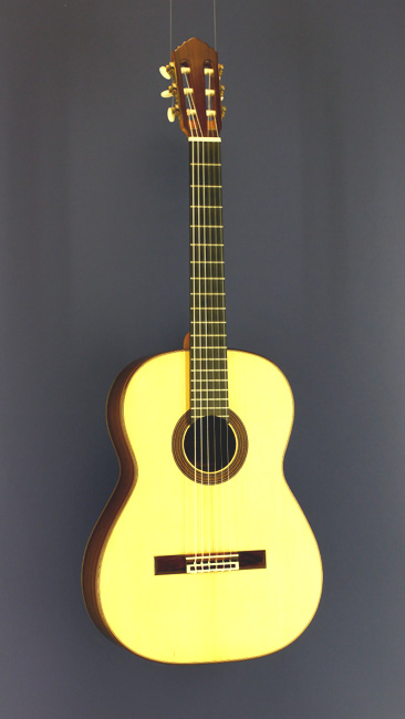 John Ray Luthier guitar spruce, rosewood, scale 64 cm, year 2005