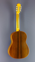 José Rodriguez Luthier Guitar spruce, rosewood, year 2004, back view