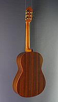 Kenneth Hill Performance, classical guitar, Double top cedar, rosewood, scale 64 cm, year 2014, back side