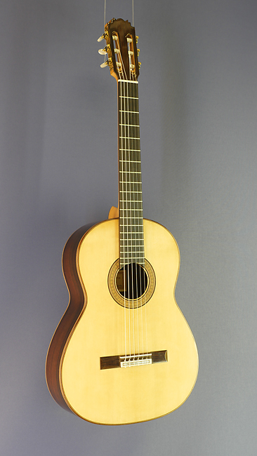 Lucas Martin classical guitar spruce rosewood, year 2016