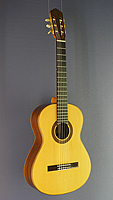 René Baarslag, classical guitar made of spruce and rosewood, year 1988