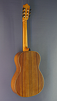Thomas Friedrich Luthier guitar spruce, rosewood, year 2017, back view