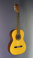 Classical guitar built in 2018 by Vladimir Druzhinin, made of spruce and Malaysian Blackwood