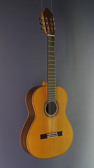 Young Seo classical guitar cedar, rosewood, year 2017, scale 64 cm