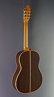 Young Seo classical guitar cedar, rosewood, year 2018, scale 65 cm, back