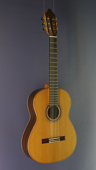 Young Seo classical guitar cedar, rosewood, year 2018, scale 65 cm