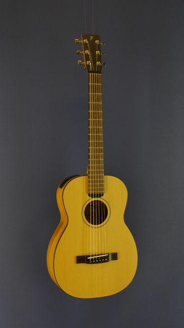 Furch little Jane Travel Guitar, Mini-Dreadnought form, steel-string, all solid, cedar, mahogany, scale 62 cm