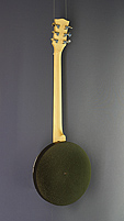 Gold Tone Guitar-Banjo with pickup, back view