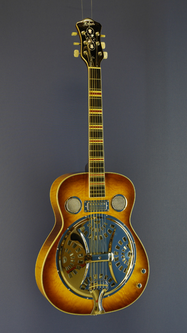 Höfner Resonator-Gitarre Antique brown sunburst