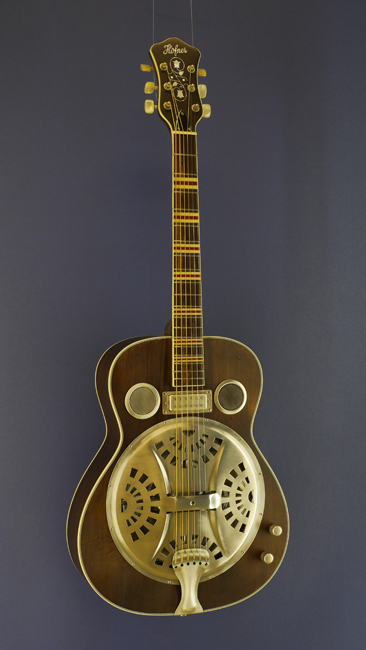 Höfner Resonator-Gitarre vintage aged natural
