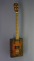 CASK Hogshead, Cigar Box Guitar with pickup