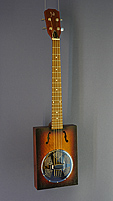 CASK Puncheon, Cigar Box Guitar with resonator