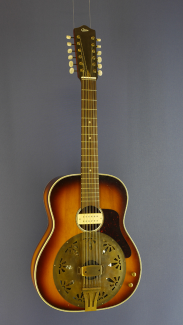 Otwin Year 1972 12 String Resonator Guitar Modified By Peter Wahl