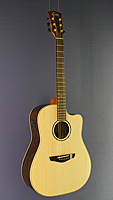Faith Saturn Westerngitarre, Dreadnought Form, Fichte, Palisander, Cutaway, Pickup