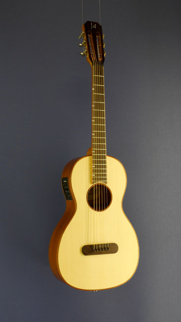 James Neligan Lismore, steel-string guitar Parlour-form, spruce, mahogany