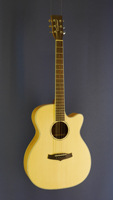 Tanglewood Westerngitarre Folk Form, Fichte, Lacewood, Cutaway, Pickup
