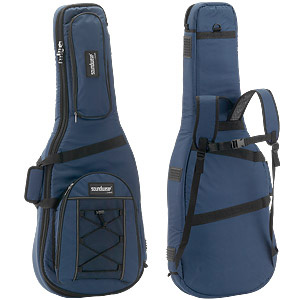Gigbag Soundwear, all around 25 mm thick padded, rucksack-straps, waterproof, dark blue or black in your online shop