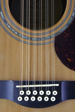 12-string guitar bridge